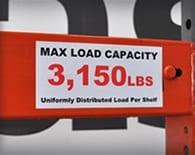 Rack Load Label