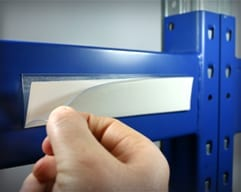 Adhesive Label Holder