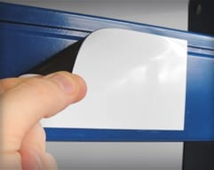 Blank Magnetic Labels