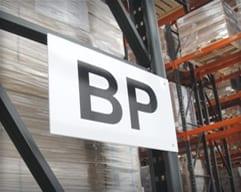 Warehouse Rack Placards