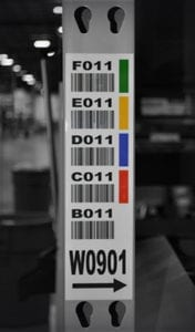 Rack Frame Label