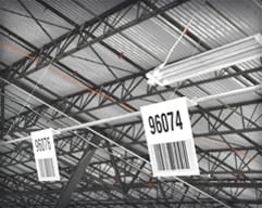 Hanging Barcode Signs