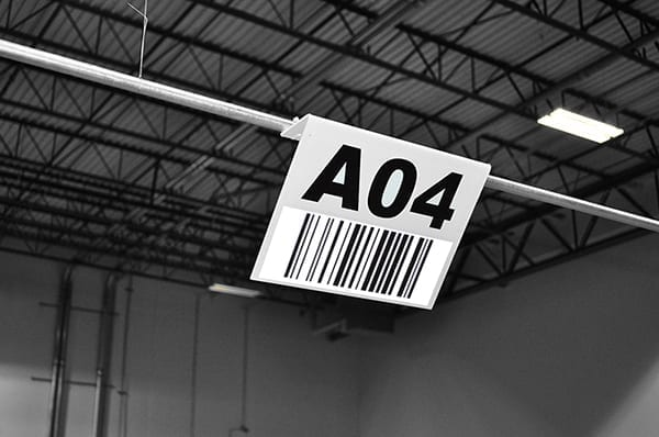 Barcode Hanging Signs