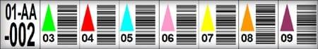 Multi Level Rack Label