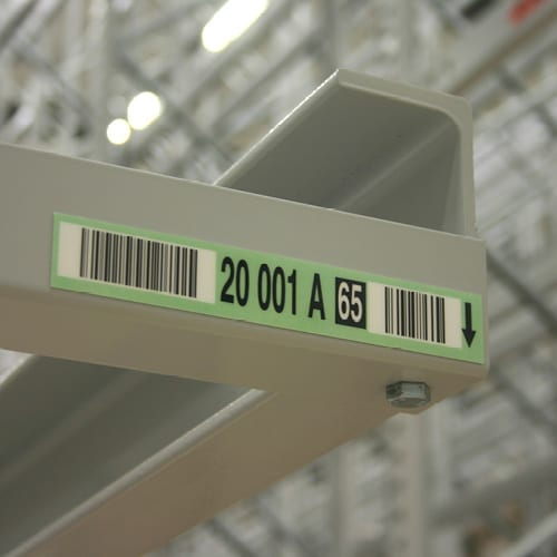 Durable Rack Labels by ASG Services, Barcode Labels and ID Sign