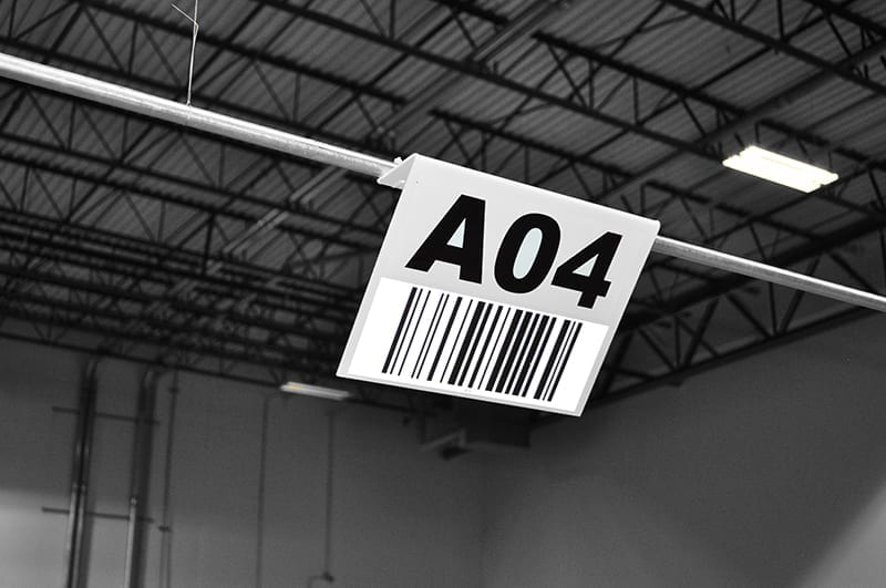 Barcode Hanging Sign