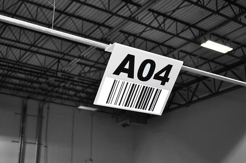 Barcode Hanging Sign