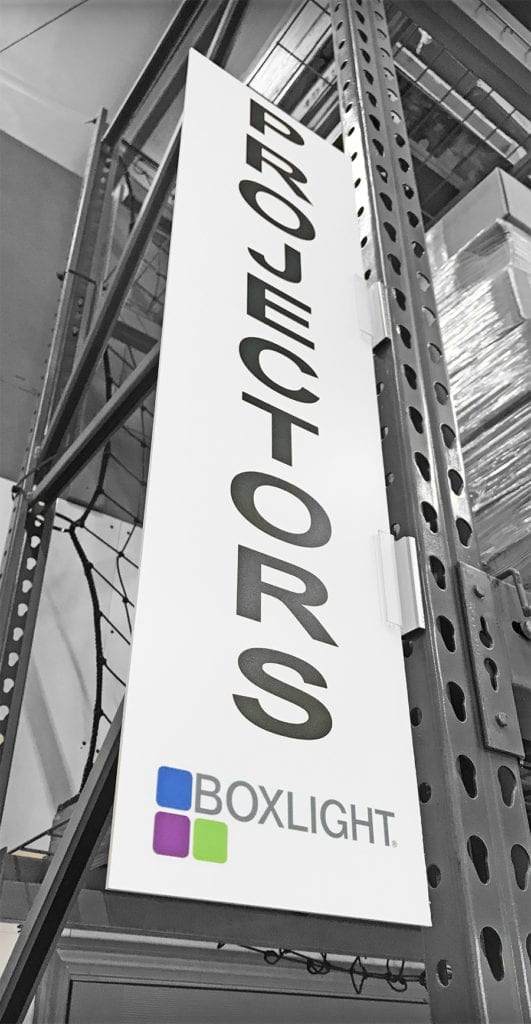 Branded Warehouse Sign