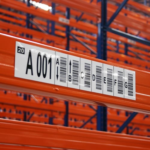 Multi-Level Rack Labels