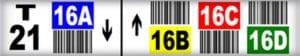 Multi Level Rack Labels