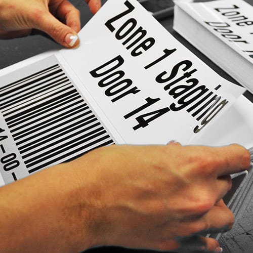 ASG Services' Rapid Response with Barcode Signs