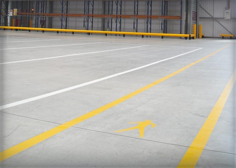 Warehouse Floor Striping