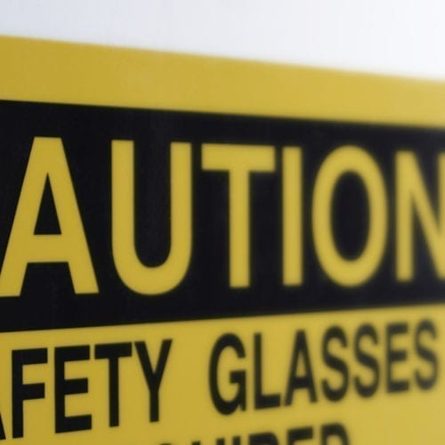 Facility and Safety Placards