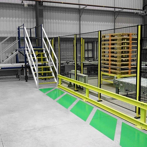 The Benefits of Safety Barriers and Floor Striping