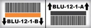 Wire Deck Base Rack Label