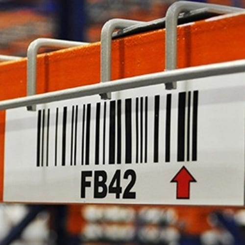 Wire Deck Rack Labels