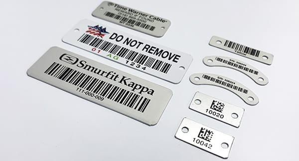 Metal Barcode Labels and Industrial Asset Tags - ASG Services
