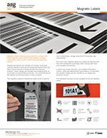Magnetic Barcode Labels
