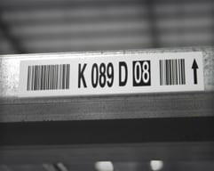 Metal Shelf Labels