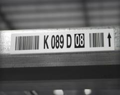 Metal Shelf Labels