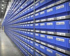 Shelf Bin Labels