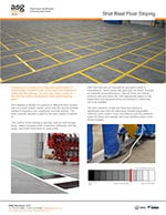 Shot Blast Floor Striping
