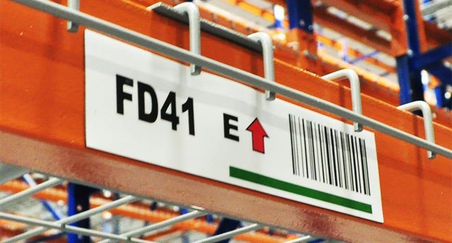 Mesh Deck Rack Labels