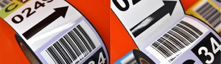 Perforated Magnetic Labels