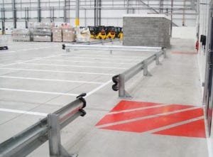 Floor Marking Barrier