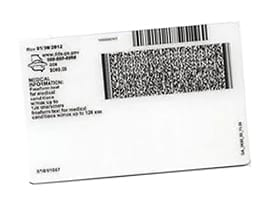 2D Barcode on Driving License