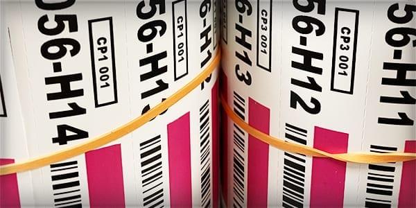 Warehouse Label Rolls
