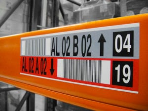 Check Digit on Warehouse Label