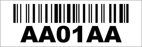 2x6 Linear Barcode