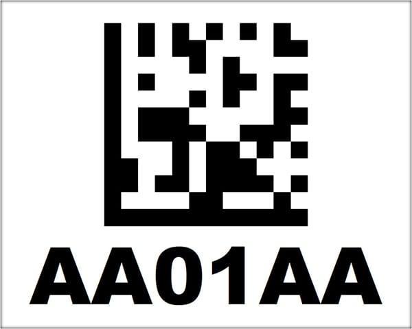 4x5 2D Barcode