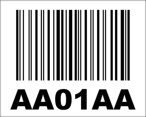 4x5 Linear Barcode