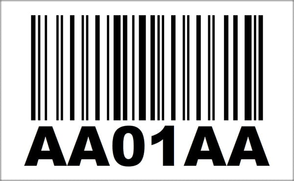 4x6.5 Linear Barcode