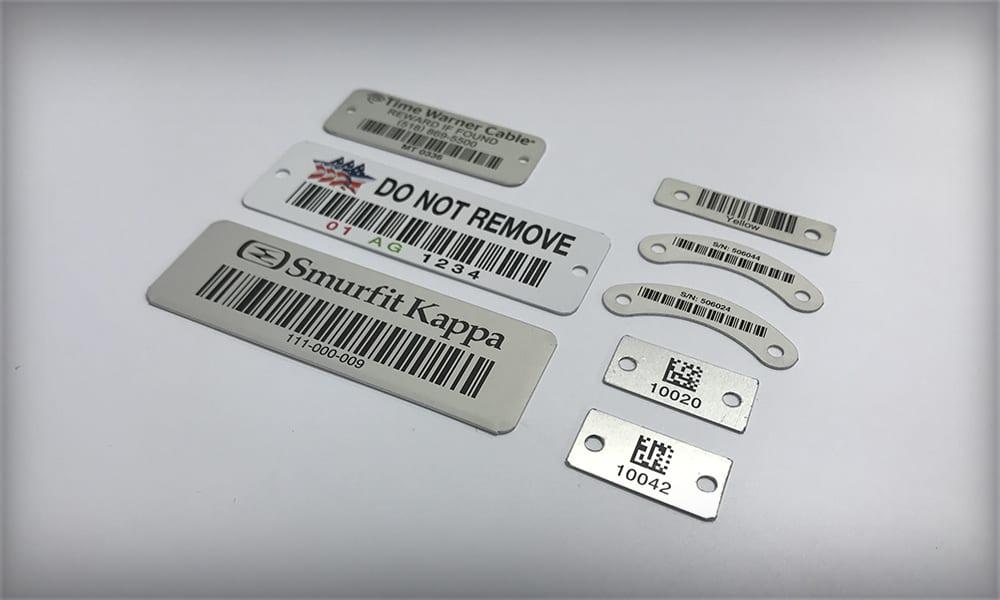 Aluminum Barcode Labels