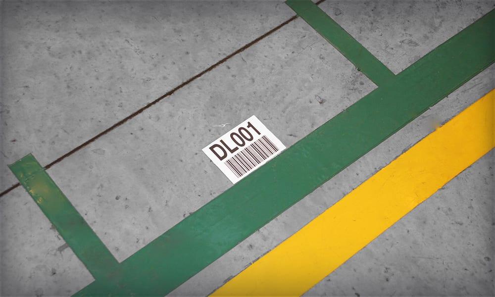 Peel & Stick Floor Labels