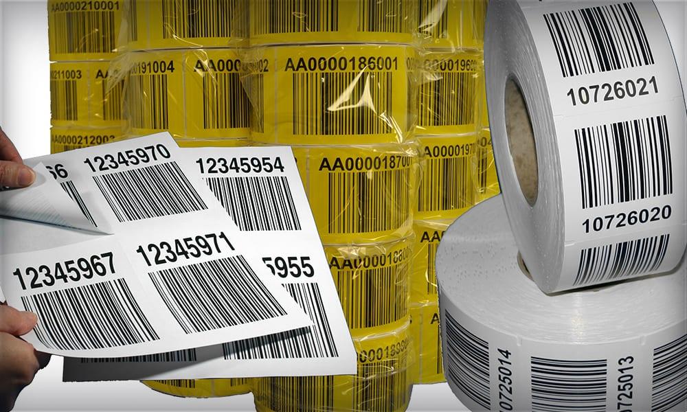 Preprint Pallet Labels